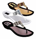 Grandco Imperial Women's Beaded Thong Sandals