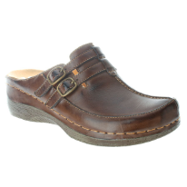 Happy Leather Clog by Spring Step