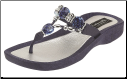 Grandco Sandals - Expression Beaded Thong Sandal