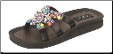 Grandco Sandals - Temptation Beaded Slide Sandal