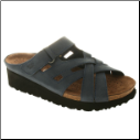 Sabra Nubuck Comfort Slide Walking Sandal by Spring Step