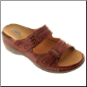 Sunshine Women's Slide Leather Sandals by Spring Step
