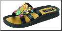 Grandco Sandals - Mystical Slide Multi-Color Beaded Sandal