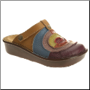 L'Artiste Handcrafted Lollipop Leather Clog by Spring Step